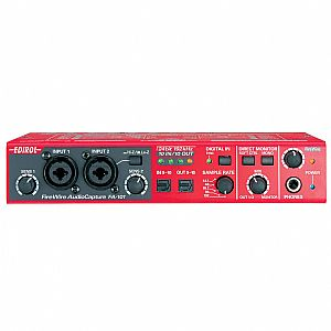 EDIROL FA-101 FIRE WIRE AUDIO & MIDI INTERFACE