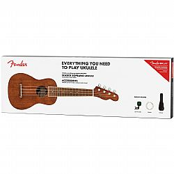 FENDER SEASIDE SOPRANO UKULELE NAT