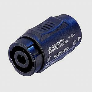 SPEAKON ADAPTOR ΜΕ LOCK NEUTRIK NL4MMX