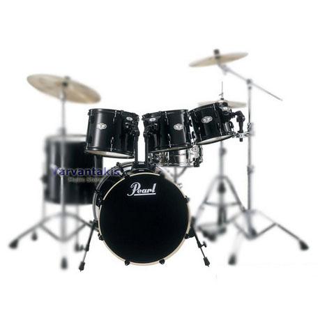 pearl vision vx925h jet black drum set. Black Bedroom Furniture Sets. Home Design Ideas