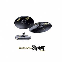 PAISTE ALPHA BLACK SLIPKNOT EDITION ΣΕΤ ΠΙΑΤΙΝΙΑ