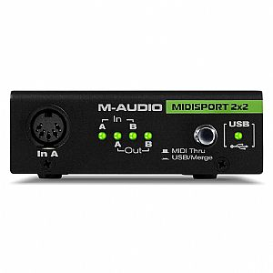 M-AUDIO MIDISPORT 2x2 USB MIDI INTERFACE