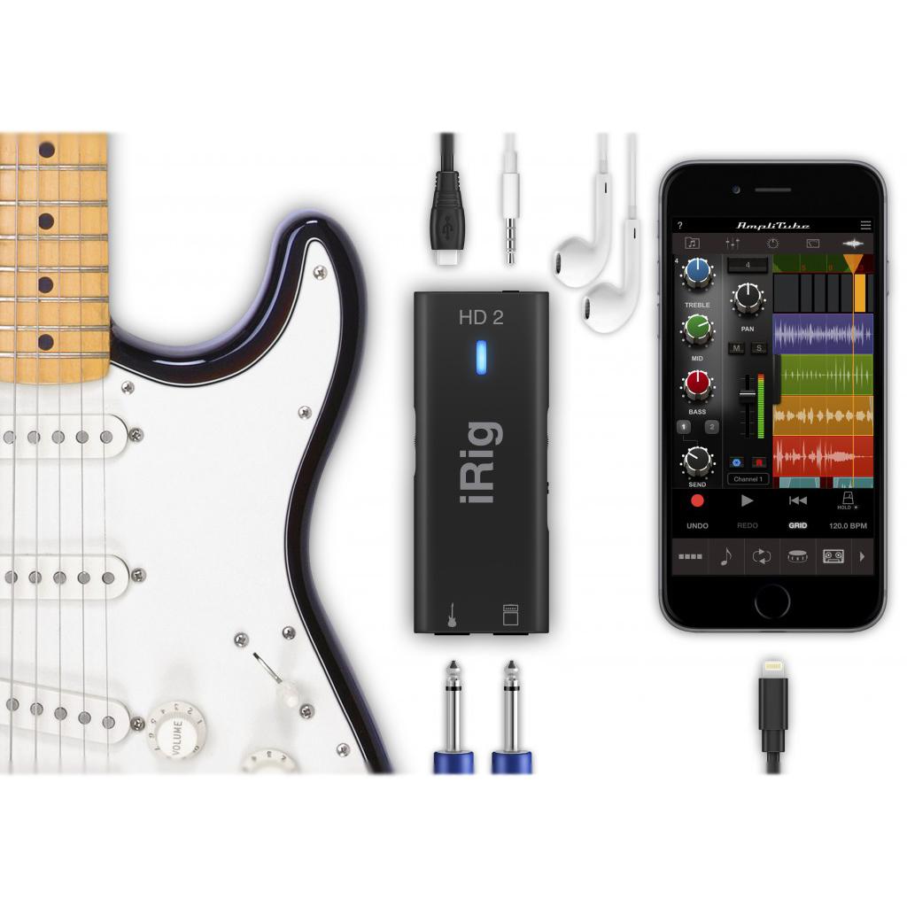 ik multimedia irig hd 2 digital guitar interface. Black Bedroom Furniture Sets. Home Design Ideas