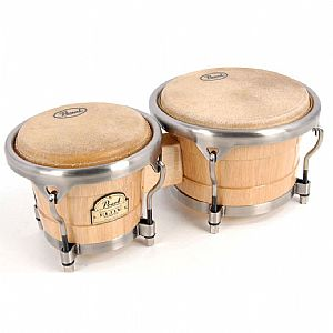 PEARL ELITE PBW-300DX BONGOS 7''-9'' NATURAL