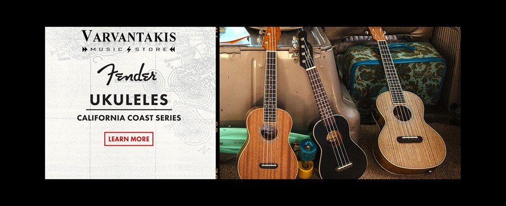 FENDER UKULELES CALIFORNIA COAST SERIES