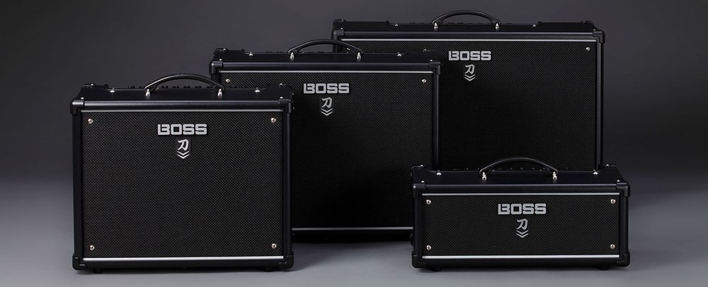 BOSS INTRODUCES KATANA MKII GUITAR AMPLIFIER LINEUP